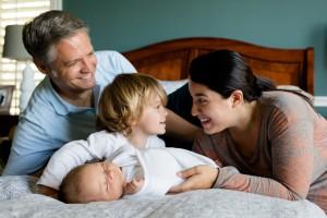 Familie absichern und finanziell vorsorgen